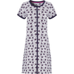 Pastunette short sleeve ladies nightdress 'bold & beautiful little flowers'