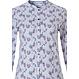 Pastunette klassieke doorknoop pyjama met lange mouwen 'floral delight'