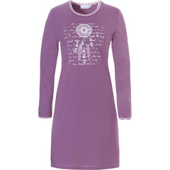 Pastunette long sleeve cotton nightdress 'catch your dreams'