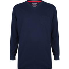 Pastunette for Men katoenen, blauwe pyjama top