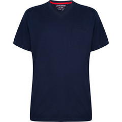 Pastunette for Men katoenen, blauwe pyjama top