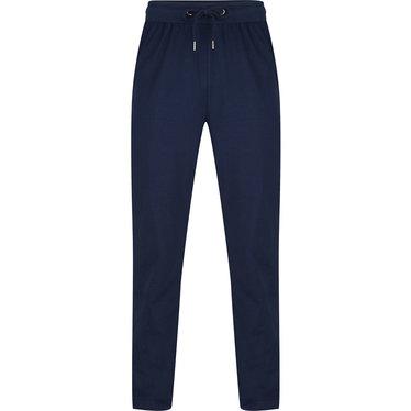 Pastunette for Men lange, blauwe, katoenen lange pyjama broek voor heren
