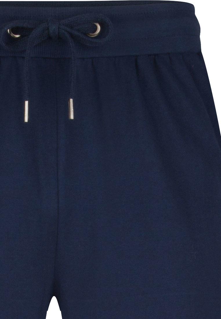 Pastunette for Men Mix & Match long blue cotton pyjama, lounge style pants with an elasticated tie-waist