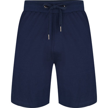 Pastunette for Men men's blue cotton shorts with an elasticated tie-waist