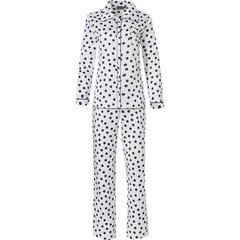 Pastunette Deluxe long sleeve full button pyjama 'delightfully dotty'