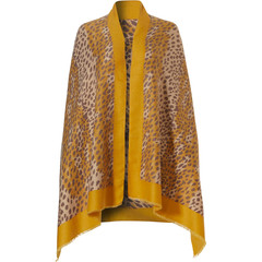 Pastunette Deluxe over the shoulder throw-shawl 'animal print'