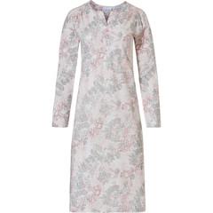 Pastunette nachthemd voor dames met lange mouwen 'vintage bloemen'