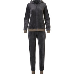 Rebelle huis-lounge pak van velours-fleece 'slightly sparkly'