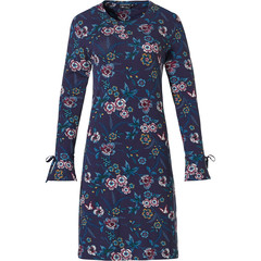 Pastunette Deluxe long sleeve home-nightdress 'floral passion'