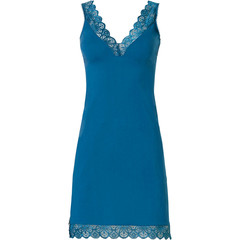 Pastunette Deluxe spaghetti nachthemd met v-hals 'lace trim beauty'