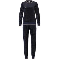 Rebelle zachte fleece lounge set 'midnight sparkle'