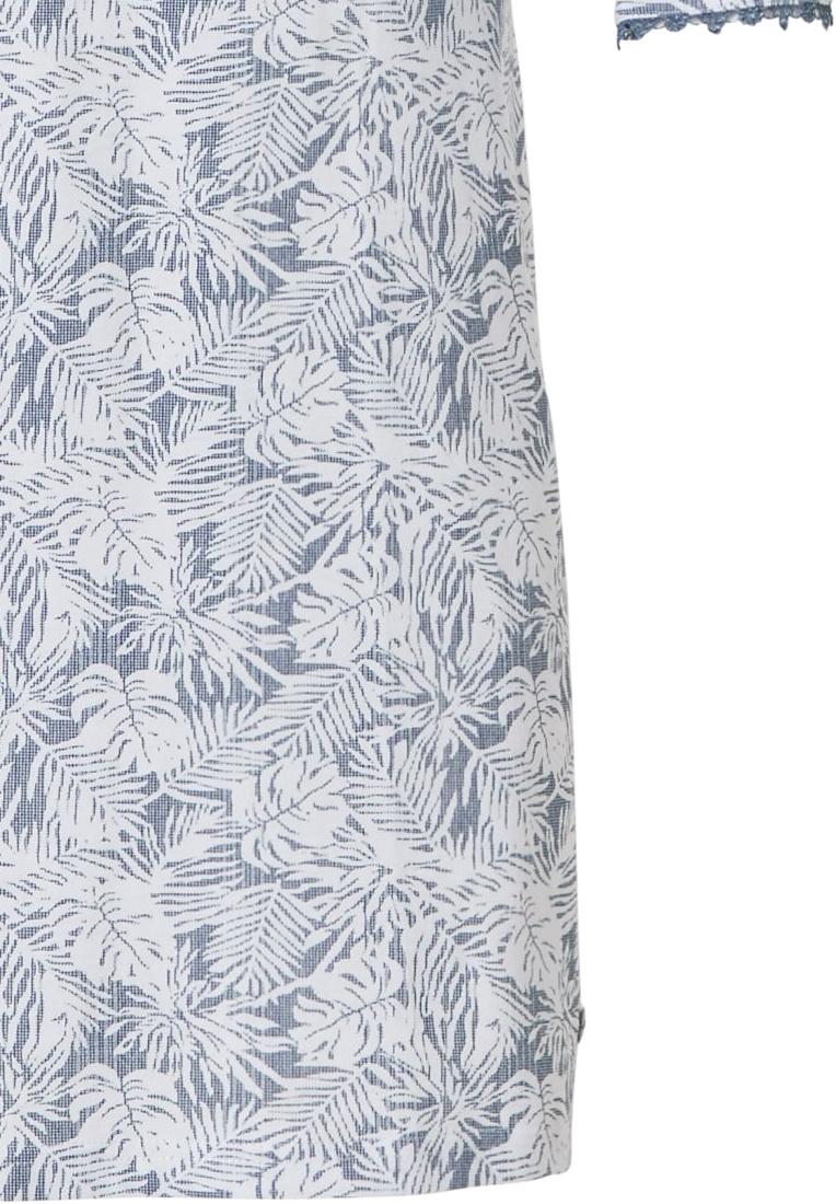 Pastunette Deluxe klassieke-stijl katoenen nachthemd 'elegant feathers'