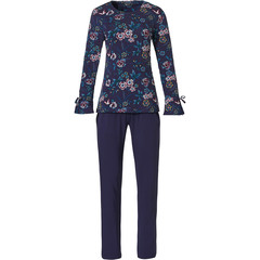 Pastunette Deluxe long sleeve home-lounge set 'floral passion'
