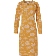 Pastunette long sleeve nightdress 'sacred lotus flower'