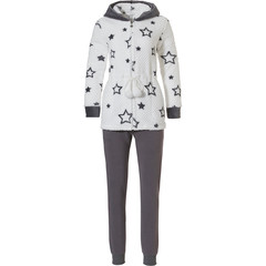 Rebelle coral fleece huispak met capuchon '★ STAR' it Up'