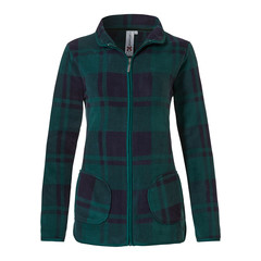 Rebelle Mix & Match polar fleece jacket 'Sporty checks'