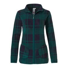 Rebelle Mix & Match polar fleece jacket 'Sporty tartan check'