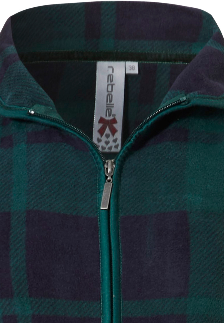Rebelle 'Sporty tartan check' dark green & navy blue