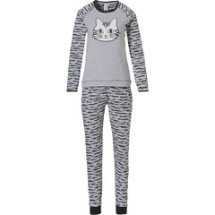 Rebelle long sleeve pyjama set 'pretty kitty cat'