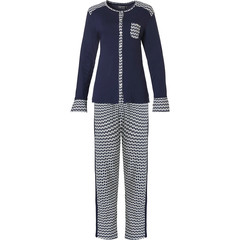 Pastunette Deluxe full button home-pyjama set 'links of fashion'