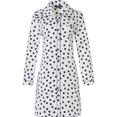 Pastunette Deluxe long sleeve full button nightshirt 'delightfully dotty'