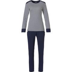 Pastunette Deluxe home-set pyjama met lange mouwen 'links of fashion'