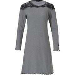 Pastunette Deluxe nachthemd met lange mouwen 'modern twist & lace'