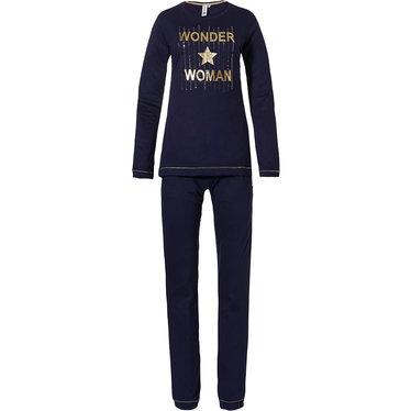 Rebelle dames pyjama met lange mouwen 'Wonder Woman ★ STAR'