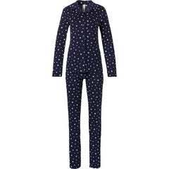 Rebelle doorknoop dames pyjama met lange mouwen 'all starry ★ ★ ★'