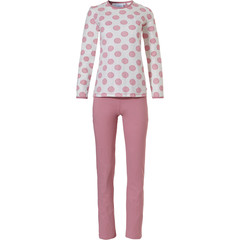 Pastunette ladies cotton pyjama set 'pretty dotty'