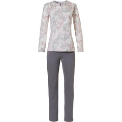 Pastunette ladies long sleeve pyjama set  'vintage floral'