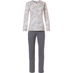 Pastunette pyjama voor dames met lange mouwen 'vintage bloemen'