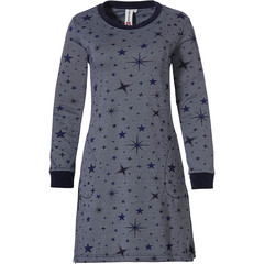 Rebelle long sleeve nightdress with pockets '★ stars at night ★'