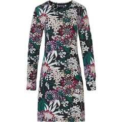 Pastunette Deluxe long sleeve night- & homedress 'intense floral'