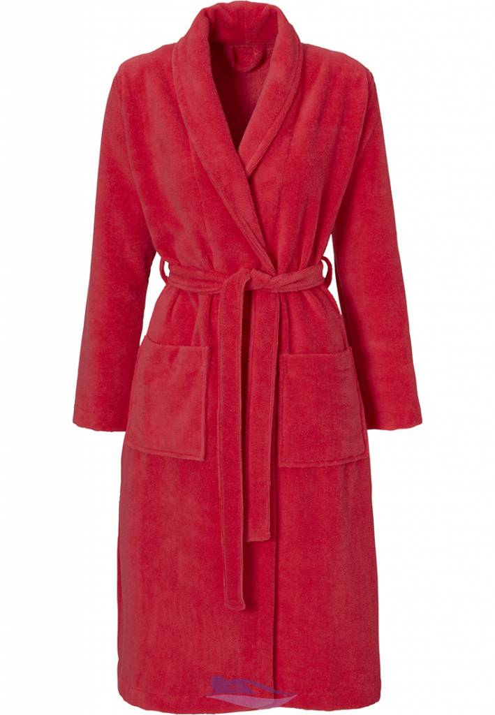 Pastunette soft classic style red morning gown