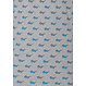 Pastunette for Men 'cool shades' grey, fresh blue & dark blue mens 93% cotton - 17% polyester shorty set with a trendy to be seen in 'cool shades' pattern with chest pocket and dark blue elasticated 100% cotton shorts