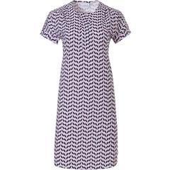 Pastunette ladies short sleeve cotton nightdress  'dewdrop petals'