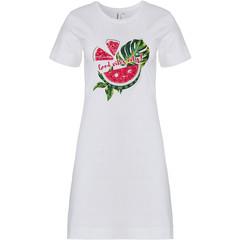 Rebelle nachthemd met korte mouwen 'fruity water melon'