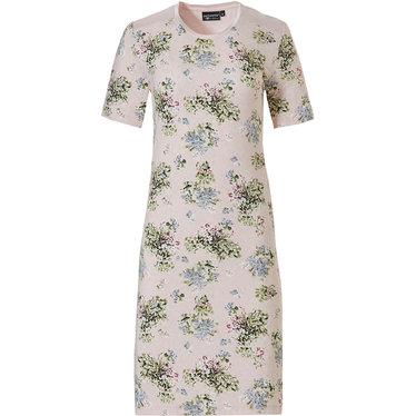 Pastunette Deluxe nachthemd met korte mouwen 'la femme fleur'
