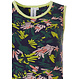 Rebelle 'jungle floral sport it up' dark blue, green, yellow & pink sleeveless nightdress with trendy all over pattern 'jungle floral sport it up' - Be cool & Sport it up the Rebelle way!