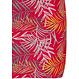 Pastunette 'pretty passion red' rood katoenen mouwloos nachthemd met all-over bladmotief en knoopsluiting aan de achterkant