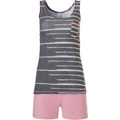 Rebelle trendy sleeveless shorty set 'just the code'