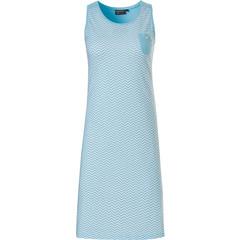 Pastunette Deluxe sleeveless nightdress 'Retro ZigZag'