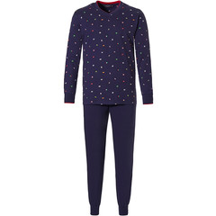 Pastunette for Men katoenen heren pyjama 'dream traveller'
