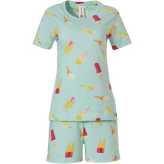 Rebelle Girls short sleeve girls cotton shorty set 'lollipop dreams'