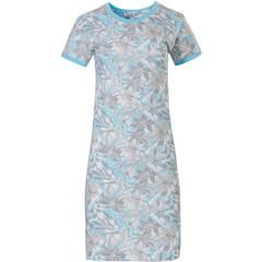 Pastunette katoenen nachthemd met korte mouwen 'floral dream garden'