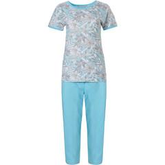 Pastunette katoenen pyjama met korte mouwen 'floral dream garden'