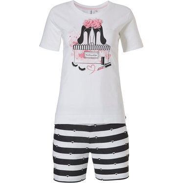 Rebelle shortama 'Miss Fashion & ♥ love to stripe it up '