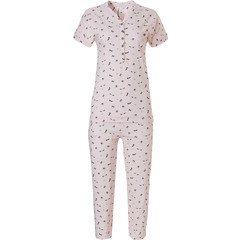 Rebelle short sleeve pyjama with buttons 'all about fashion'