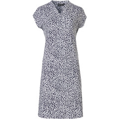 Pastunette Deluxe capped sleeve homewear dress 'chic animal print'
